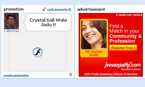 Orkut Promotion - to promote google ads